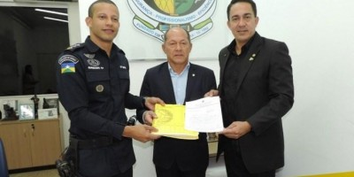 Deputado Coronel Chrisostomo empenha apoio para a construção do 5ª Batalhão da...