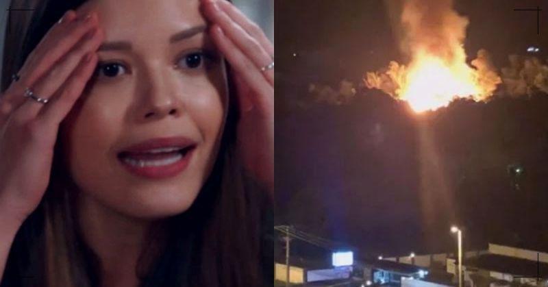 Fogo na Globo: Incêndio destrói estúdios da novela e funcionários entram em desespero na emissora