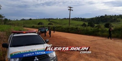 Nova Brasilândia - Durante Operação Paz no Campo, PM apreende armas de fogo, drogas e...