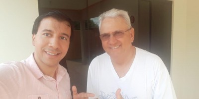 Vice-Presidente da Associação Comercial e Industrial de São Felipe visita...