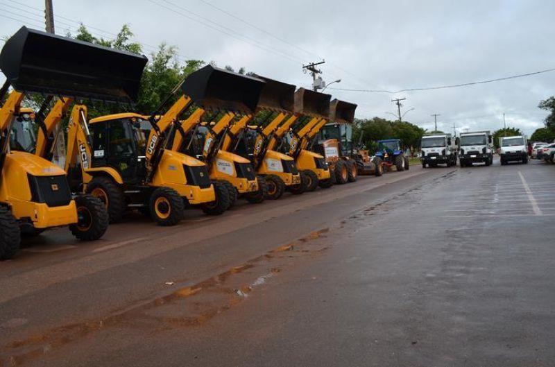 ROLIM DE MOURA: Gasto para recuperar parque de máquinas será de R$ 400 mil