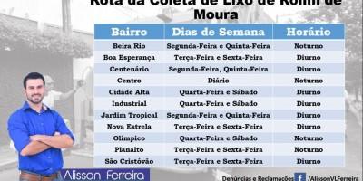 ROLIM DE MOURA: Vereador quer população ajudando a fiscalizar coleta de lixo