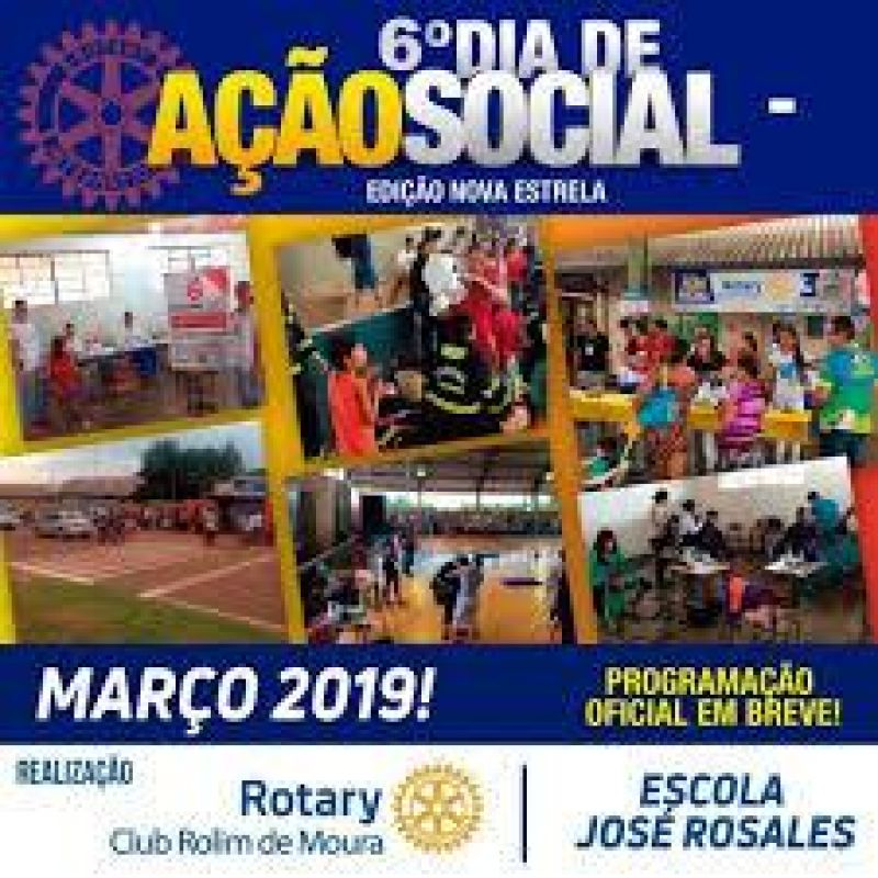 Rotary realiza dia de Ação Social em Nova Estrela