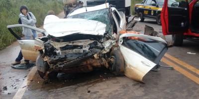 Um morto e dois feridos graves em acidente no Candeias do Jamari