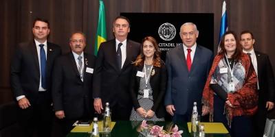 Bolsonaro se reúne com empresários no terceiro dia de visita a Israel