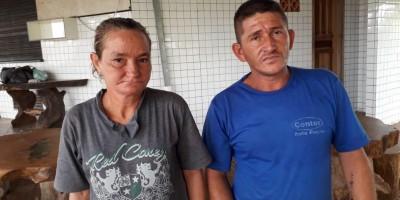 Casal pede ajuda para sair das ruas em Rolim de Moura; saiba como ajudar