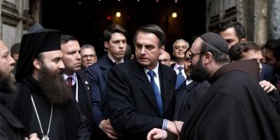 Em Jerusalém, Bolsonaro acredita em reforma até junho