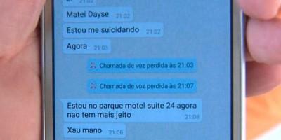 Homem que matou esposa contatou irmão após o crime: 'Matei Dayse'