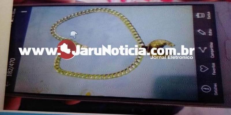 JARU: Apenado é liberado para passar páscoa e furta corrente avaliada em R$ 1.400,00 reais