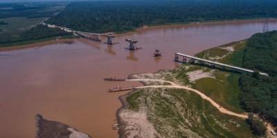 Ponte sobre o rio Madeira, entre Acre e Rondônia, deve ficar pronta em junho