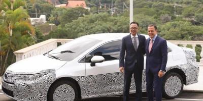 Primeiro carro híbrido flex do mundo é lançado no Brasil
