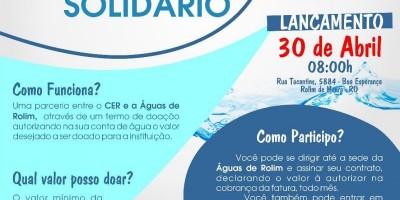 ROLIM DE MOURA: Parceria entre CER e Águas de Rolim lançarão projeto Cliente Solidário