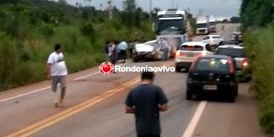 URGENTE: Acidente envolvendo carretas resulta em morte na BR-364