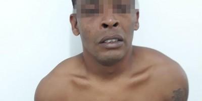 VÍDEO: Momento da prisão do latrocída fugitivo de Rolim de Moura acusado de estupro e...