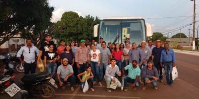 Prefeitura de Rolim de Moura leva agricultores a Rondônia Rural Show