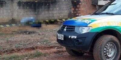 Apenado é morto a tiros na frente de casa em Jaru, RO