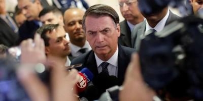 Bolsonaro diz que parte da imprensa vive só de mentiras
