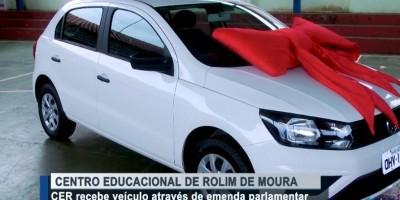 CER de Rolim de Moura recebe veículo através de emenda parlamentar