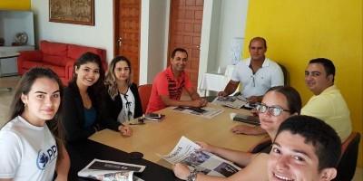 Equipe da Secretaria Executiva de Governo do Estado de Rondônia em Rolim de Moura já...