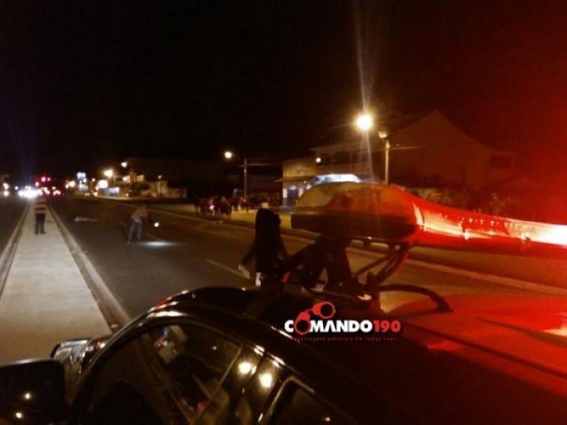 Rondônia: Homem morre atropelado ao atravessar a BR-364