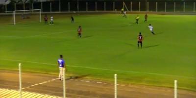 8º campeonato de futebol noturno inicia com vitória do Esporte Clube Tubarão