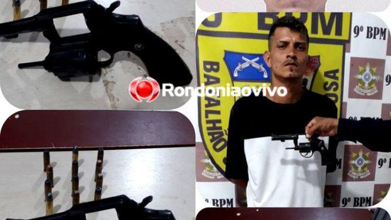 """APÓS ATENTADO NO MORAR MELHOR: """"É para me defender de ataques de facção rival"""", diz foragido preso com arma"""