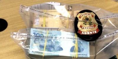 DINHEIRO DO TRÁFICO: Polícia Federal prende apenado que sacou R$ 150 mil em banco