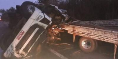 Motorista de Cacoal morre preso às ferragens na rodovia do Mato Grosso