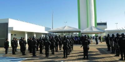 PORTO VELHO - Presídio com capacidade para 603 presos e controle aéreo é inaugurado em...