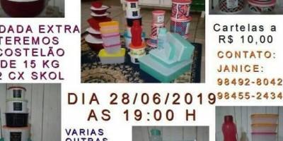 ROLIM DE MOURA: Bingo em prol do tratamento dos 3 Filhos da Janice acontece hoje(28) no...