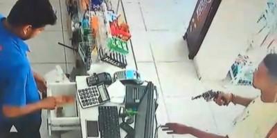 ROLIM DE MOURA: Farmácia é alvo de bandidos