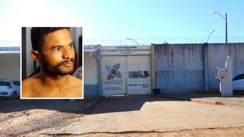Bandido que arrancou coração da tia enforca e tenta matar preso