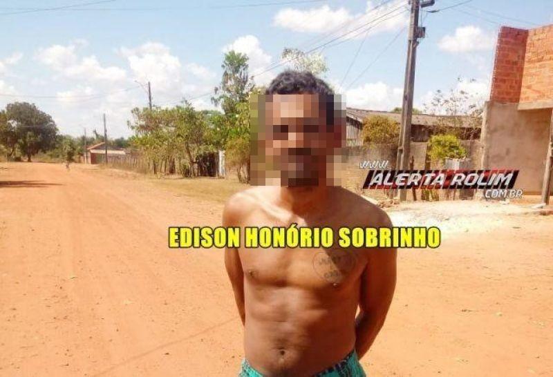 Rolim de Moura – Acusado de crimes de furto, receptação e embriaguez na direção é preso pela PM em cumprimento de Mandado de Prisão