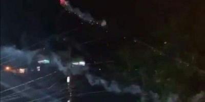 Vídeo: morador usa drone com bombas para acabar com festa