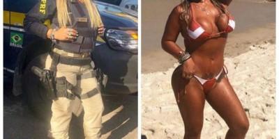 Agente da polícia rodoviária federal faz sucesso nas redes com fotos de biquíni