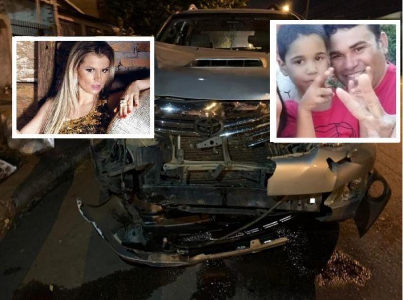 Blogueira estava a mais de 100km/h e furou sinal vermelho; menino de 3 anos morreu