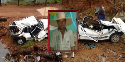 COSTA MARQUES: Comprador de gado morre após capotar carro em ribanceira