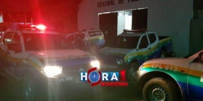 Homem invade central de flagrante, agride mulher, policiais Civis e foge após levar tiro...