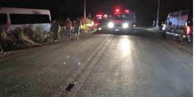 Luan Santana e equipe sofrem acidente