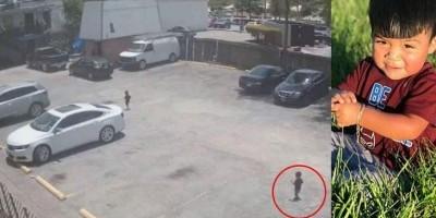 Mãe deixa menino de 1 ano sozinho no estacionamento e o pior acontece