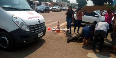 SAINDO DO TRABALHO: Militar é atropelado por carro após condutor fazer conversão...