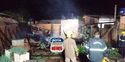 Em Rondônia marido coloca fogo na casa que foi alugada pela esposa