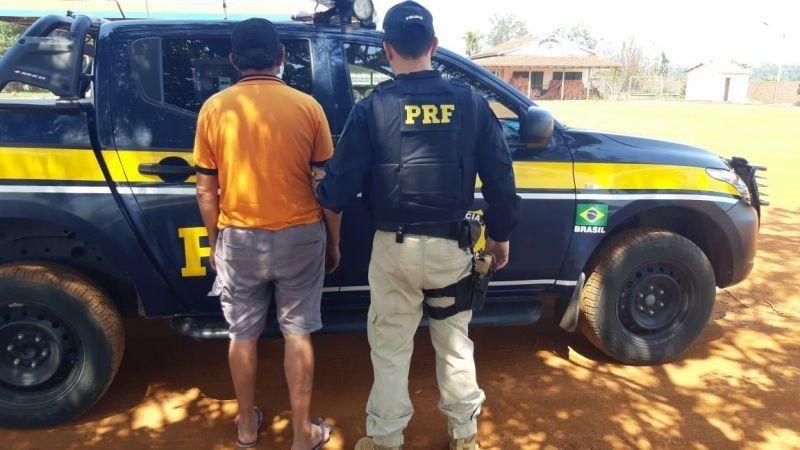 PRF prende homem com documento falso em Rondônia