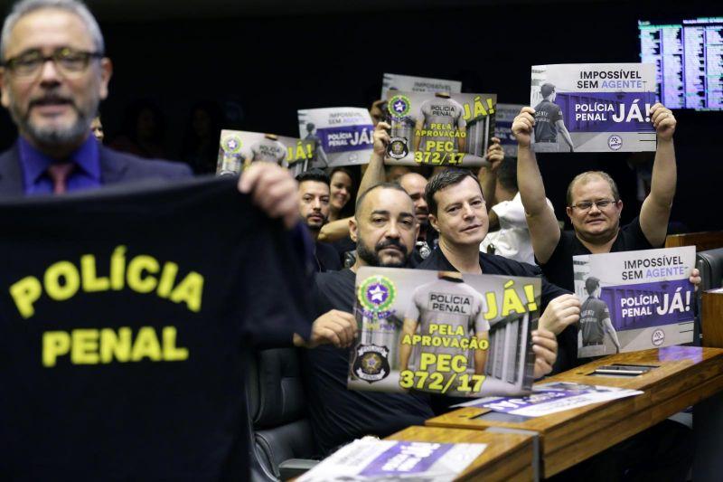 Rodrigo Maia confirma votação da PEC que cria a Polícia Penal para 18 de setembro, anuncia  Fenaspen