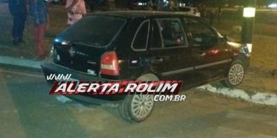 ROLIM DE MOURA: Durante a madrugada motorista avança via preferencial e colide em carro...