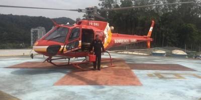 Vídeo: helicóptero resgata de congestionamento fígado para transplante