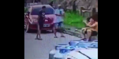 Câmera flagra sargento da PM sendo executado por dupla - VÍDEO