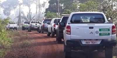 NOVA BRASILÂNDIA: Operação de Reintegração de Posse é realizada em Assentamentos