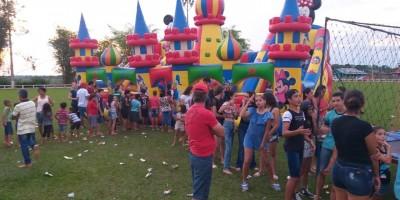 ROLIM DE MOURA: Associação Esportiva de Nova Estrela realiza festa para Crianças