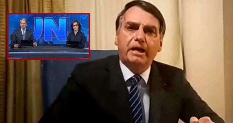 VÍDEOS: Emocionado, Bolsonaro destrói Globo após matéria sobre suposto envolvimento na morte de Marielle Franco